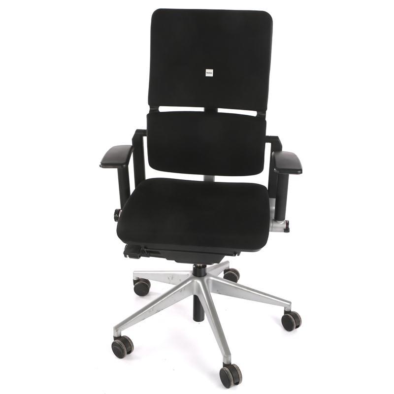 steelcase please drehsessel b rostuhl schwarz 468 200 mp ebay. Black Bedroom Furniture Sets. Home Design Ideas
