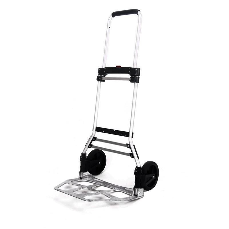 faltbare aluminium sackkarre transportkarre faltbar klappbar 120 kg ebay. Black Bedroom Furniture Sets. Home Design Ideas